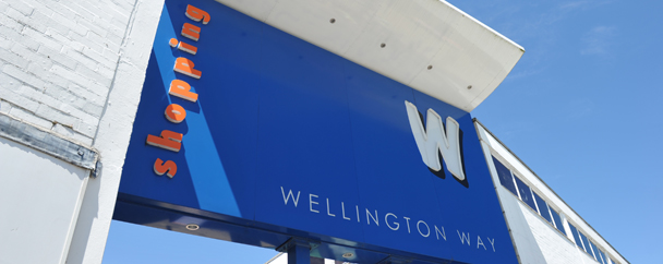 Entrance to the Wellington Way Shopping Centre